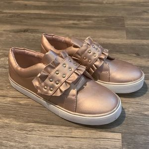 Tucker and Tate Gold Slip-on Tennis Shoes